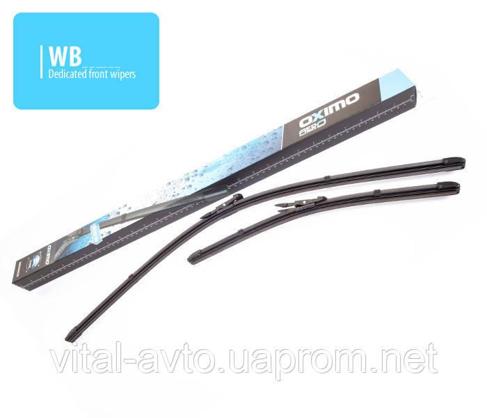 Щетки стеклоочистителя Nissan Qashqai 06-14/ Fiat Panda 12-/ Lancia Ypsilon 11- ,кт 2 шт