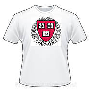 Футболка Harvard University белая