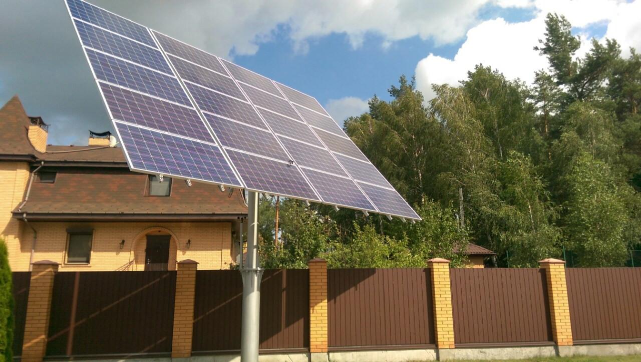 Сонячний трекер ST 1200.2 на 20 фотомодулів  - Правильне електроживлення в Львове