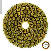 Шлифовальный металлизированный круг d 100 mm x 5.5 mm. Номер 100