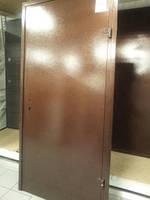 """Двері металеві """"Офіс титан"""" 960мм (мідь з 2-х сторін) праві"""