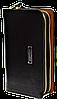 Мужской клатч кошелек барсетка  Langsa черного цвета JJK-000231