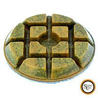 Шлифовальный металлизированный круг d 100 mm x 10 mm. Номер 200