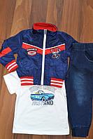 Спортивные костюмы троечки с ветровкой для мальчиков.Размеры 1-5.Фирма CHILDHOOD.Венгрия