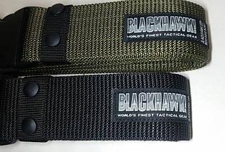 Ремень тактический поясной широкий BlackHawk!, фото 2