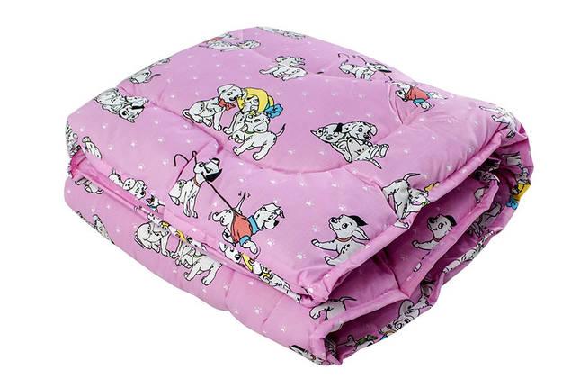 Одеяло шерстяное 100% детское 110x140 , фото 2
