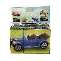 """Кубики Гамма """"Автомобили"""" набор из 6 кубиков в полиэтиленовой упаковке 106042"""