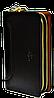 Практичный мужской клатч Langsa черного цвета JJK-000334