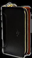 Практичный мужской клатч Langsa черного цвета JJK-000334, фото 1