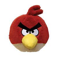 Мягкая игрушка ANGRY BIRDS (птичка красная, озвуч., 12см)