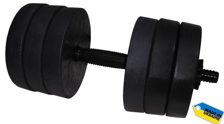 Гантель складальна Newt Rock 15 кг (NE-K-400-015)