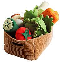DUKTIG Корзина с овощами