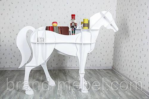 Декоративная полка Лошадь