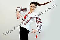 Блуза женская с вышивкой БЖ 31-16/01