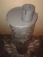 Глушитель выхлопа в сборе ЗИЛ-5301 с/о Ø=64 мм 5301-1201010-01