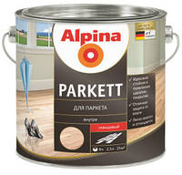 Лак для паркета Alpina Parkett
