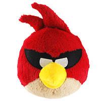 Мягкая игрушка - ANGRY BIRDS SPACE (птичка красная, озвуч., 12см)