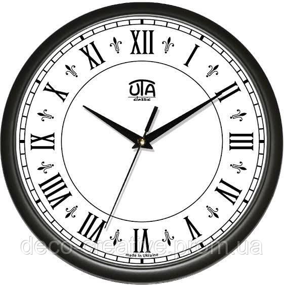 """Годинник настінний ЮТА """"Классика"""" 300Х300Х45мм            01 B 42"""