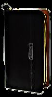 Удобный мужской клатч Langsa черного цвета JJK-000345