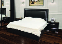 Кровать 2-сп Экстаза черная, фото 1