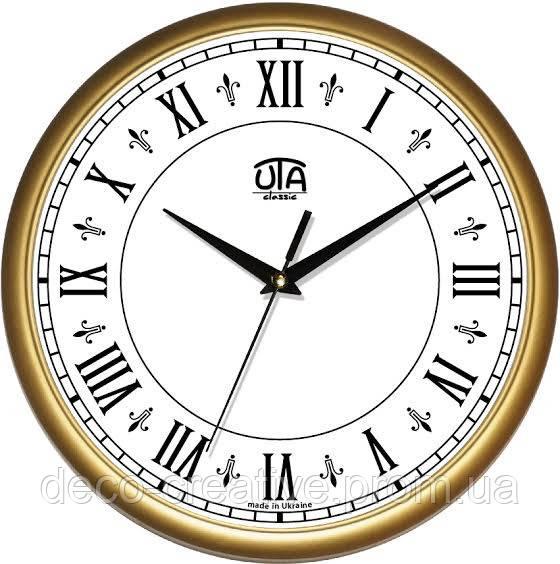 """Годинник настінний ЮТА """"Классика"""" 300Х300Х45мм            01 G 42"""