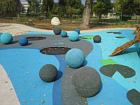 Безопасные покрытия для детских и спортивных площадок Playtop (UK)