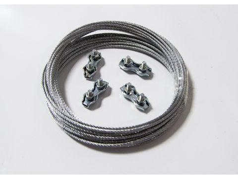 Комплект крепежа для монтажа панели Саундлюкс-Баффл / Саундлюкс-Баффл LED