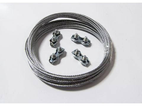 Комплект крепежа для монтажа панели Саундлюкс-Баффл / Саундлюкс-Баффл LED, фото 2