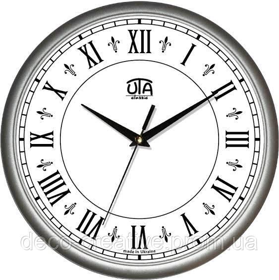"""Годинник настінний ЮТА """"Классика"""" 300Х300Х45мм            01 S 42"""