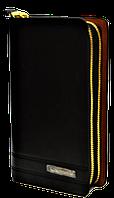 Мужской клатч-барсетка Langsa черного цвета JJK-000378