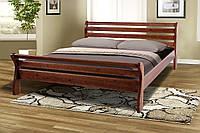 Кровать деревянная двуспальная Ретро-2 сосна