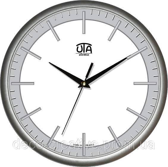 """Годинник настінний ЮТА """"Классика"""" 300Х300Х45мм            01 S 43"""