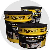 Аквамаст Мастика битумная для фундамента (18 кг)