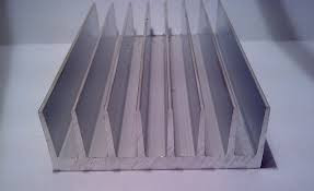 Алюминиевый профиль,радиаторный профиль 94х33 мм ПАС 345 доставка порезка