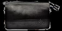 Мужской клатч Langsa черного цвета JJK-000554