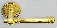 Дверная ручка на раздельной розе Everest золото Almar (Италия)