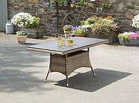 "Стол садовый Greemotion ""Garda"" Rattan/HPL Platte 160x90"