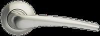 Ручка на раздельной розе Capella LD40-1SN/CP-3 матовый никель/хром Armadillo (Китай)