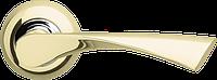 Ручка на раздельной розе Corona LD23-1SG/CP-1 матовое золото/хром Armadillo (Китай)