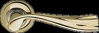 Ручка на раздельной розе Laguna LD85-1GP/SG-5 золото/матовое золото Armadillo (Китай)