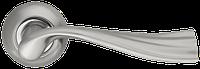 Ручка на раздельной розе Laguna LD85-1SN/CP-3 матовый никель/хром Armadillo (Китай)