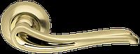 Ручка на раздельной розе Octan LD64-1SG/GP-4 матовое золото/золото Armadillo (Китай)