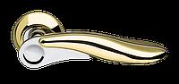 Ручка на раздельной розе Ursa LD48-1SG/CP-1 матовое золото/хром Armadillo (Китай)