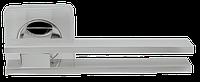 Ручка на раздельной розе Bristol SQ006-21SN/CP-3 матовый никель/хром Armadillo (Китай)