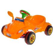 Машинка на педалях,Kinder Way Молния, три цвета