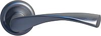 Дверная ручка на раздельной розе Vela CM 170 R59 матовый хром Comit (Китай)