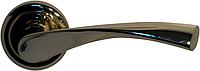 Дверная ручка на раздельной розе Vela CM 170 полированная бронза (латунь) Comit (Китай)