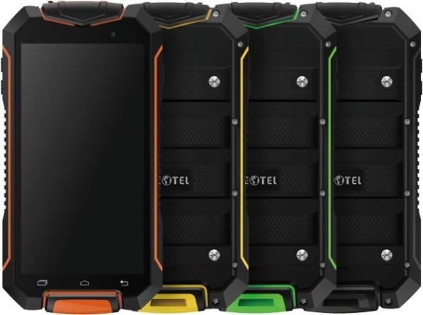 "Смартфон Geotel A1, 2sim, 3400mAh, экран 4.5""IPS, 8/2Мп, 1/8Gb, GPS, 3G, 4 ядра, IP67, Android 7.0"
