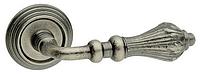 Дверная ручка на раздельной розе Nina античное железо Fimet (Италия)