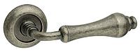 Дверная ручка на раздельной розе Juliette античное железо Fimet (Италия)